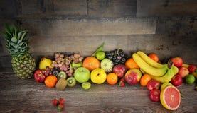 Смешивание Healty органическое состава плодоовощей Стоковое Изображение RF