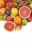 Смешивание Healty органическое состава плодоовощей Стоковые Изображения RF