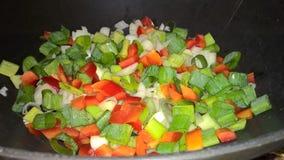 Смешивание Veggies Стоковая Фотография