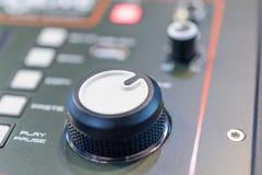 смешивать пульта тип нот s смесителя оборудования dj ядровый Стоковое Изображение