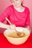 смешивая булочка смеси Стоковые Изображения RF