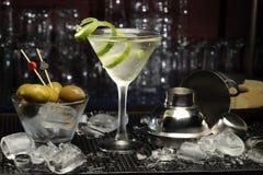 смешивая коктеил содержит транспарант режимов martini изображения eps10 различный Стоковые Фото