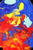 смешивая краски совместно Стоковые Изображения