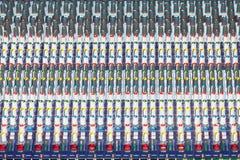 Смешивая тональнозвуковая консоль Стоковые Фото