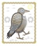 Смешная ворона Стоковое Изображение RF