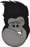 Смешная горилла иллюстрация штока