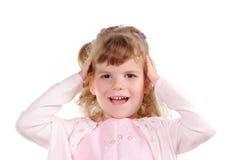 Смешная девушка Стоковые Фотографии RF
