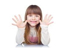 смешная девушка Стоковое фото RF