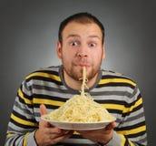 Смешная еда Стоковое фото RF