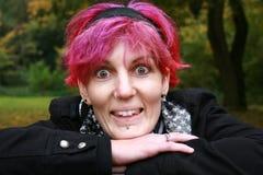 смешная женщина Стоковая Фотография RF