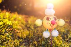 Смешная игрушка сделанная из воздушных шаров Стоковые Фотографии RF