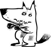 Смешная иллюстрация собаки Стоковое фото RF