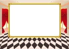 Смешная карточка с пустым космосом для текста. Стоковое Изображение