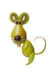 Смешная крыса сделанная из груши Стоковые Изображения