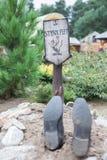 Смешная могила Стоковые Изображения RF