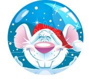 Смешная мышь шаржа Стоковое Фото