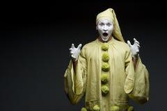 Смешная пантомима Стоковое фото RF