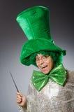 Смешная персона в концепции праздника St. Patrick Стоковое фото RF