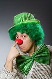 Смешная персона в концепции праздника St. Patrick Стоковые Изображения