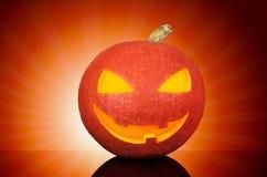смешная тыква halloween Стоковое фото RF