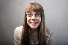 смешная усмешка Стоковая Фотография
