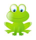 Смешная лягушка Стоковые Изображения RF