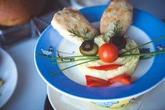 Смешное блюдо стоковое фото rf