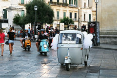 Итальянское венчание стоковое изображение rf