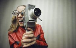 Смешное кино Стоковое Фото