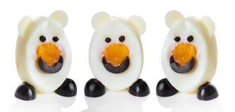 Смешное маленькое животное сделанное из яичек Стоковое Изображение RF
