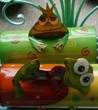 Смешное домашнее вещество украшения красочное Стоковое Изображение RF