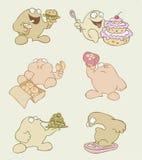 смешное персонажей из мультфильма тучное Стоковая Фотография
