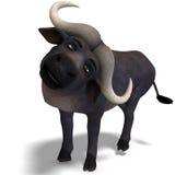 смешное шаржа буйвола милое очень иллюстрация штока