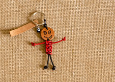 Смешное handmade keychain Стоковое Фото