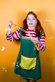 Смешное Pippi Стоковые Изображения