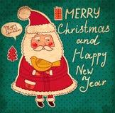 Смешное Santa Claus бесплатная иллюстрация