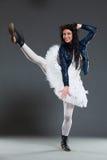 Смешной артист балета стоковая фотография rf