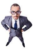 Смешной бизнесмен болвана Стоковое Изображение RF