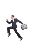 Смешной бизнесмен Стоковые Изображения RF