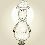 смешной вектор овец бесплатная иллюстрация