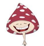 смешной гриб Стоковое фото RF