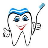 смешной зуб Стоковая Фотография