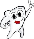 смешной зуб Стоковое Изображение