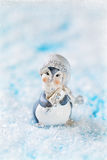 Смешной маленький пингвин Стоковые Изображения