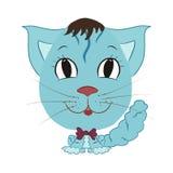 Смешной мальчик кота Стоковое Фото