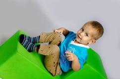 Смешной мальчик Стоковое Изображение