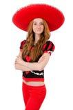Смешной мексиканец Стоковые Фото