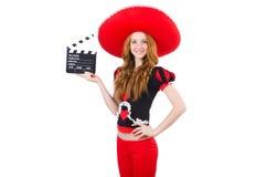 Смешной мексиканец Стоковое фото RF