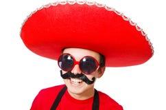 Смешной мексиканец Стоковая Фотография RF