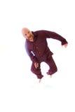 Смешной облыселый человек Стоковое фото RF